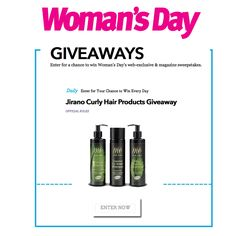 natural hair - smooth hair, define curls and hydration that lasts all day.  Enter Women's Day giveaway:   http://womansday.hearstmobile.com/sweepstakes/32540