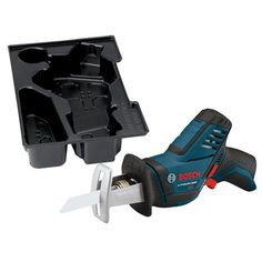 Bosch PS60BN 12-Volt Max Variable Speed Cordless Reciprocating Saw with L-Boxx Insert Tray (Tool Only)