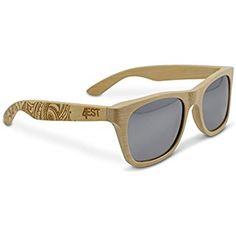 9d74718834d9 Bamboo Wood Sunglasses - Polarized handmade wooden shades in a wayfarer  that Floats!