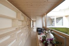 Image 3 of 33 from gallery of in Hohenems / Juri Troy Architects. Photograph by Juri Troy Supreme Furniture, Family Room Walls, Long House, Decks And Porches, Architect Design, Interior Inspiration, Interior Architecture, Ideal Home, Floor Plans