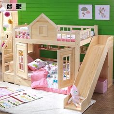 "Get terrific ideas on ""bunk bed ideas for small rooms"". They are on call for you. - Get terrific ideas on ""bunk bed ideas for small rooms"". They are on call for you on our interne - Bunk Beds Small Room, Wooden Bunk Beds, Bunk Beds With Stairs, Cool Bunk Beds, Twin Bunk Beds, Small Rooms, Bunk Beds For Girls Room, Kid Beds, Girls Bedroom"