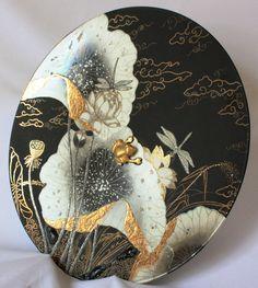 Peinture sur porcelaine: Technique moderne - plateau