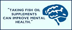 Taking Omega-3 Fish oil supplements can improve mental health. Click to learn more! #Omega3 #fishoil #benefits #healthylife