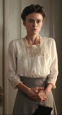 A Dangerous Method 1900s Fashion, Edwardian Fashion, Vintage Fashion, Modern Victorian Fashion, Keira Knightley, Belle Epoque, Vintage Dresses, Vintage Outfits, Edwardian Clothing