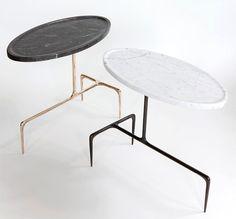 Caste - Bridger Oval Occasional Table
