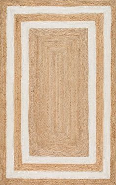 Maui JT13 Jute Double Border Rug - jute rugs great for the dogs come in a lot of different colors and patterns