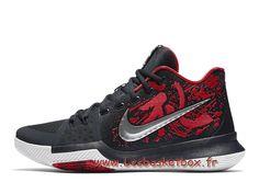 new product 84afb 3338b Chausport Basket Nike Kyrie 3 samurai 852396 900 Nike pas cher Pour homme  Noires - 1707131069 -