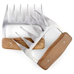 stainless steel meat claws!