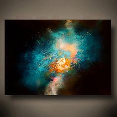 Gran lienzo abstracto por Simon Kenny Nova por SimonkennysPaintings