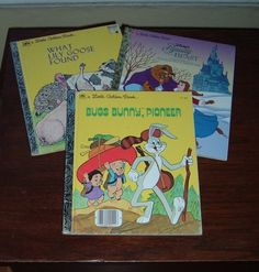 Classic Little Golden Books set of 3  Childrens by NewtoUVintage