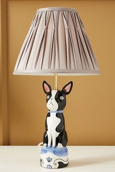 Art Knacky Pet Table Lamp by in Blue, Lighting at Anthropologie