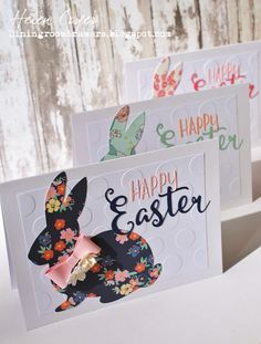 The Dining Room Drawers: Sizzix / Echo Park / Stampin' Up Easter Cards for ...