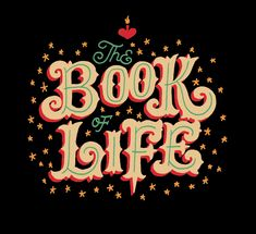 Jon Contino's hand-lettered work for The Book of Life