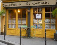 Paris France :: Crêperie St Eustache √