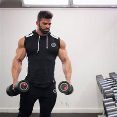 Hot 2018 Men Gyms Hoodies Gyms Fitness Bodybuilding Sweatshirt Crossfit Pullover Sportswear Mens Workout Hooded Jacket Clothing is part of Gym men - piece Brand Tank Tops 2018 Men Bodybuilding Casual Gyms Tank Undershirt Muscle Vest Fashion High Quality Fitness Motivation, Lifting Motivation, Fitness Bodybuilding, Bodybuilding Training, Fitness Models, Workout Vest, Workout Hoodies, Body Building Men, Gym Tank Tops