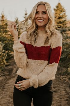 Hand Knitted Sweaters, Fall Sweaters, Sweaters For Women, Into The Fire, Fall Winter Outfits, Cute Casual Outfits, Autumn Fashion, Fashion Outfits, Fasion