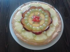 Crostata #ananas #uva #susine #fragole #pesche