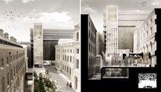 PINIweb.com.br |Hall McKnight vence Zaha Hadid e vai projetar reforma de universidade em Londres| Construção Civil, Engenharia Civil, Arquitetura