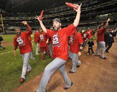 Jaime celebrating.