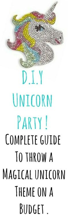Who doesnt love UNICORNS !?  #unicorns #girlsbirthday #diy #onabudget #sscollective #partyplanning