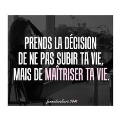 Strong Words, French Quotes, Morals, Positive Attitude, Motivation, Deep Thoughts, Business Women, Inspire Me, Positivity