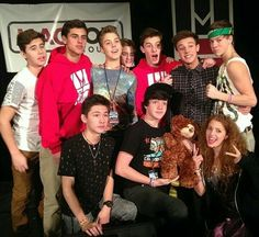Taylor Caniff,Cam Dallas,Lox,Jack & Jack,Nash Grier,Matt Espinosa,Carter Reynolds,Aaron Carpenter,Shawn Mendes ❤