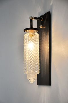 Wall sconce designed by Michelle James...