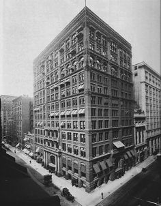 """home-insurance-company-building-by-william-le-baron-jenney WILLIAM JNNEY - late chicago - """"father of the amrican skyscraper"""" - home insurance building Home Insurance Building, Society Problems, Home Insurance Quotes, Life Insurance, Art Et Design, Chicago School, My Kind Of Town, Amazing Buildings, Industrial Revolution"""