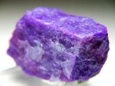 Sugilite the strongest stones to wear to give protection from negative entities, and  attachments.  As it is a violet flame crystal for healing.  If you have emotional problems this stone is strongly nurturing. It assists you to let go of worry, and it stimulates positive feelings that aid the release of stress and brings peace of mind and calmness.  | www.lookingbeyond.com
