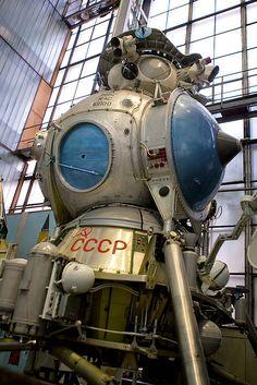 Soviet lunar module N-3 by dyorr, via Flickr