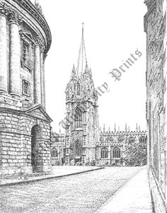 St Mary's from Radcliffe Square