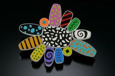 PIN Description: pin, fabricated box forms filled with polymer clayDimensions: H:2.50 x W:3.00 x D:0.25 Inches