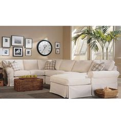 14 Best White Sectional Sofa Images Guest Rooms Home Living Room