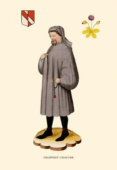 Geoffrey Chaucer, by H. Shaw