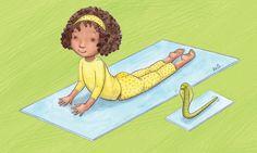 12 Kid-Friendly Yoga Poses To Focus And Destress - mindbodygreen.com                                                                                                                                                                                 More