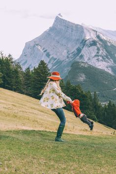 We are staying at the the Fairmont Banff Springs Hotel and it is SO pretty .. when you drive up in looks like a castle and the grounds are gorgeous. And high five for having diaper genies for guests with babies.. Nothing is worse than the diaper situation in hotels so I thought that was …