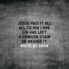 Oh praise the One who paid my debt and raised this life from the dead