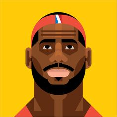 LeBron James   by Always With Honor  (the furrowed brow really sells it)