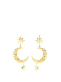 Boucles d'oreilles en plaqu� or Marlowe | Marte Frisnes | MATCHESFASHION.COM FR
