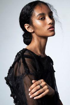 """eisbaer-emily: """"  British model Xiara Waller """""""