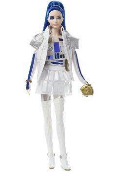 Star Wars R2D2 X Barbie Doll Figure. R2D2 Gift Ideas. Star Wars Gift Ideas For Barbie Doll Lovers. Birthday Xmas Gift Ideas For Women Girls. Star Wars Gift Ideas. Star Wars Lover Gifts. #StarWarsLoverGifts #R2D2DollStarWars #StarWarsGiftIdeas