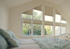 Window Treatments For Angled Windows Google Search