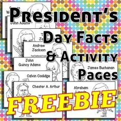Skinny Dippers and Cursing Parrots?!?[Grades All] [History] [Classroom Management]Students of all ages will enjoy these strange but true facts about our presidents along with clear black line art that can be used to color or decorate project boards and presentations. www.imLHL.com