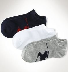 Polo Ralph Lauren Women's Big Pony Player Cotton Low Cut - 3 Pack Polo Ralph Lauren. $13.50