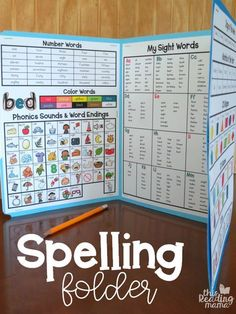 My Spelling Folder - Foldable Spelling Board with FREE Printables - This Reading Mama