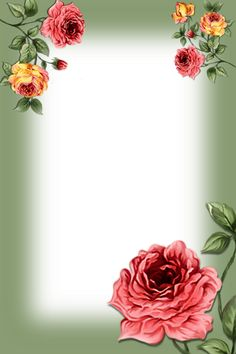 Flower Backgrounds, Wallpaper Backgrounds, Boarder Designs, Letter Photography, Printable Frames, Girl Birthday Decorations, Framed Wallpaper, Birthday Frames, Frame Background
