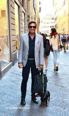 Italian Man | ... man i saw on that day in florence with his cute dog the man at the