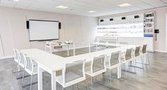 Vibrant and modern IIAA offices has been a great project for Task Systems. Together with TwobyTwo interiors we manage to achieve both a very distinctive office design and comfortable office environment. Meeting Table, Office Environment, London, Chair, Interior, Modern, Public Spaces, Beauty, Furniture