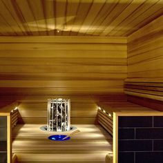 building a sauna - our next big investment will definately be a sauna. I love sauna nights! Building A Sauna, Wellness, Blinds, Stairs, Curtains, Lighting, Home Decor, Buildings, Spa