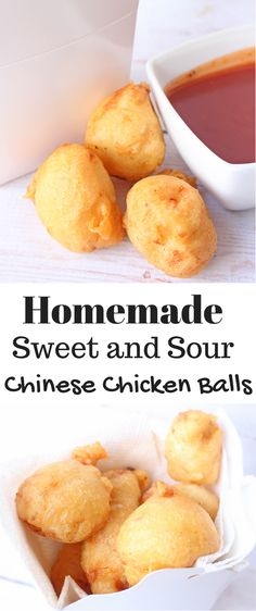 Homemade Sweet and Sour Chinese Chicken Balls - Six Time Mommy and Counting…Si. , Homemade Sweet and Sour Chinese Chicken Balls - Six Time Mommy and Counting…Si. Homemade Chinese Food, Healthy Chinese Recipes, Homemade Sweets, Asian Recipes, Mexican Food Recipes, Chinese Desserts, Low Carb Raffaelo, Homemade Egg Rolls, Sweet Sour Chicken